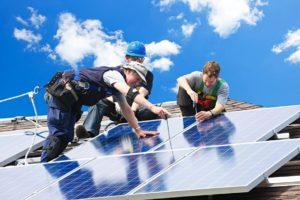 Installing new solar panels