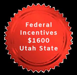 Federal Incentives $1600 Utah State